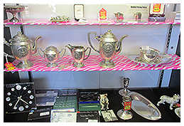 Silverware on Display