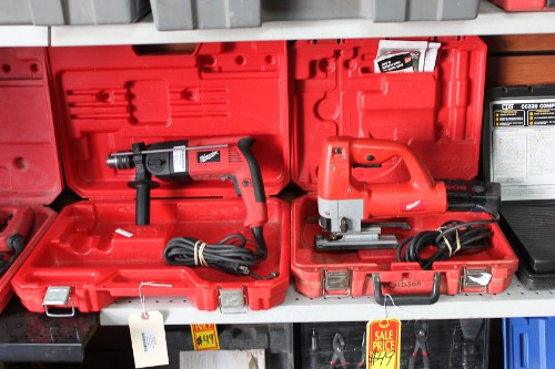 Tools in Red Case