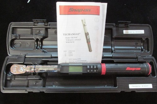 Snap On Techangle Electronic Torque Angle Wrench