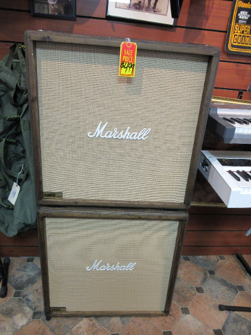 "Marshall 1960 Lead 4X12"" Guitar Speaker Cabinets"